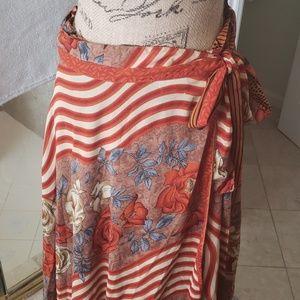 Dresses & Skirts - Reversible wrap around skirt or dress/wrap